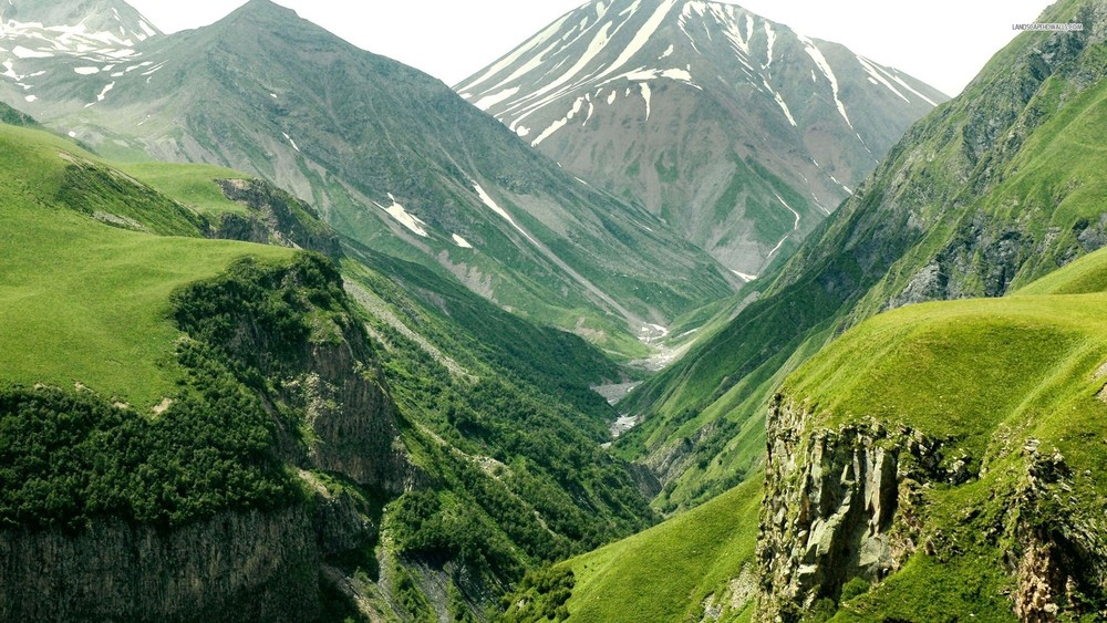 Mountains and Valleys 1
