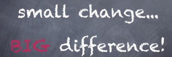 small change - big difference