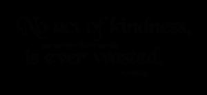 KindnessNeverWasted