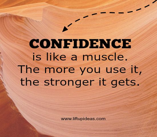 Confidence self gain How someone help to
