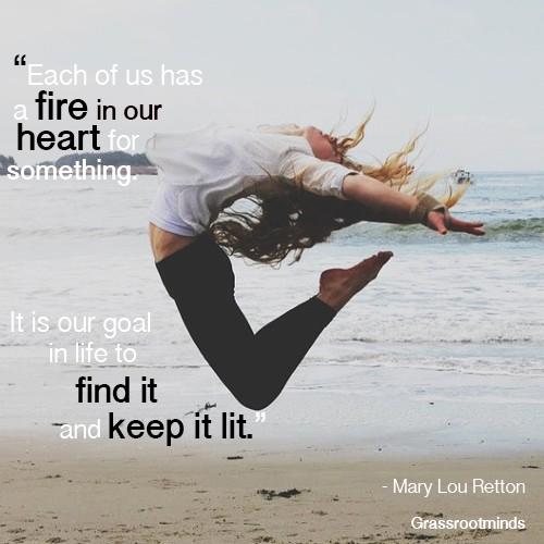 Passion For Life Mary Lou Retton Wisdom Trek C
