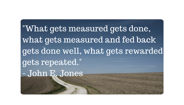 what gets measured gets done essay The full proposition is: 'what gets measured gets managed - even when it's pointless to measure and manage it, and even if it harms the purpose of the organisation to do so.