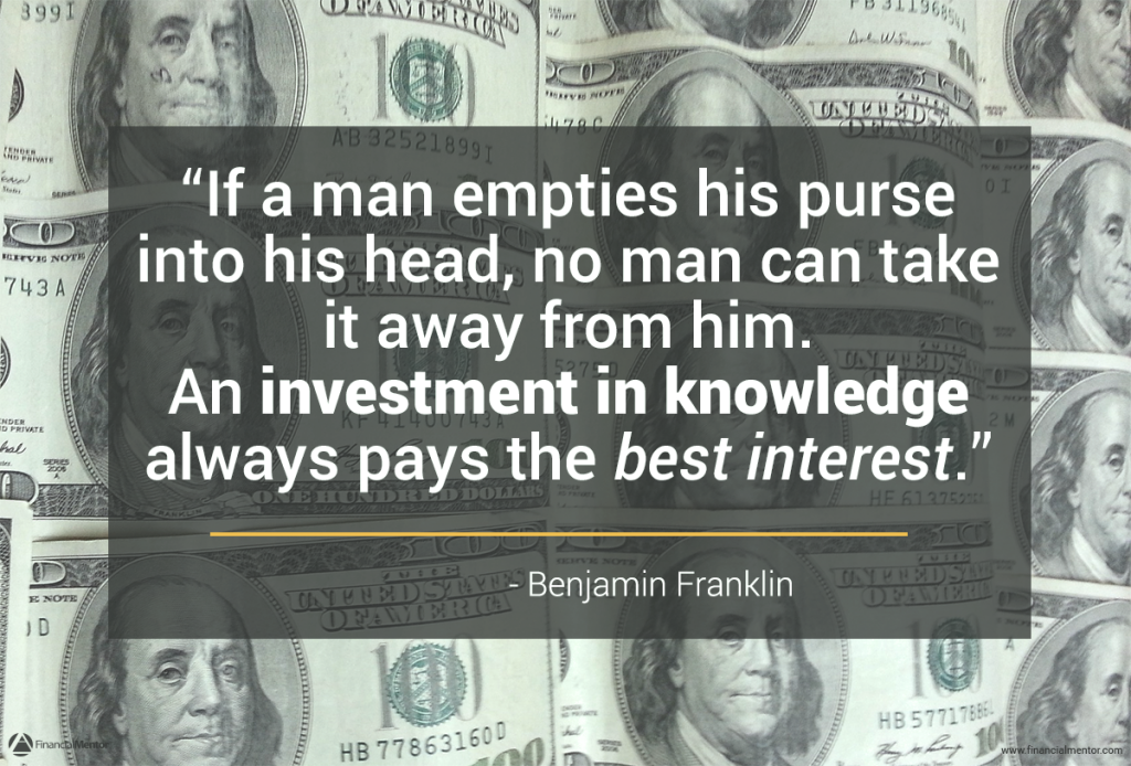 7 Key Reasons Why Financial Education Is Your Best Investment Quote