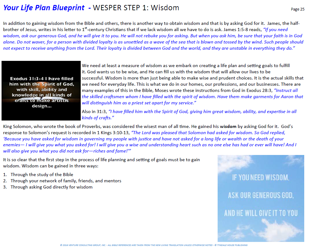 Blueprint archives page 7 of 9 wisdom trek on our trek for today we have examined the 1st step of the wesper framework which is wisdom wisdom is as essential to living a life of purpose as water malvernweather Images
