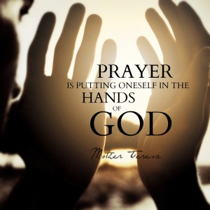 Prayer in the hands of God