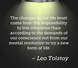 Change in our lives