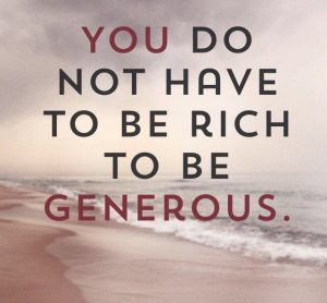 Lifestyle - Generous