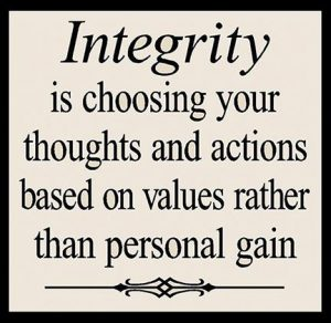 Character and Integrity 2