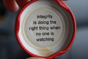 Character and Integrity 7