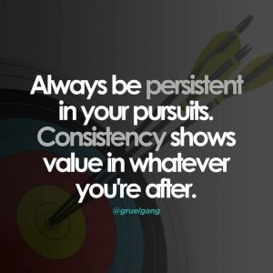 Consistent Persistence 5