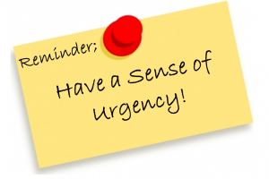 Developing a Sense of Urgency 2
