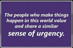Developing a Sense of Urgency 4