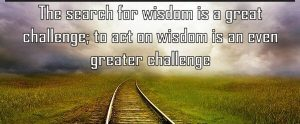 The Search for Wisdom2
