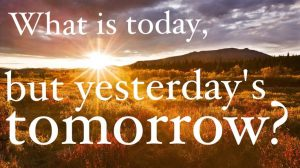 Two Minute Warning - Today is Yesterday's Tomorrow