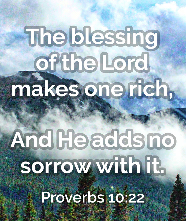 Day 611– Words and Wealth – Proverbs 10 - Wisdom-Trek ©