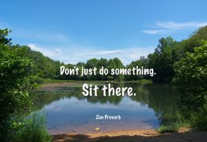 Don't Just Do Something - Sit There! 1