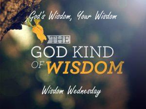 God's Wisdom, Your Wisdom 1
