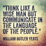 Day 627 – Think Like a Wise Man – Wisdom Unplugged