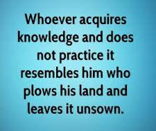 Wisdom Before Knowledge 4