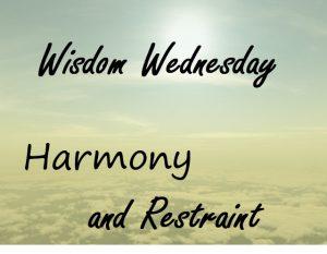 Harmony and Restraint 1