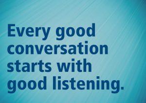 Speak Less, Listen More 4