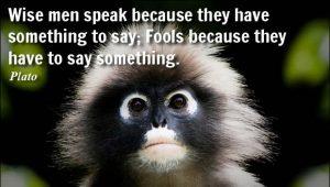 a wise man speaks 1