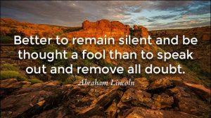 a wise man speaks 4