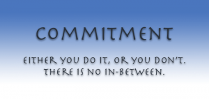Commitment is the Key 2