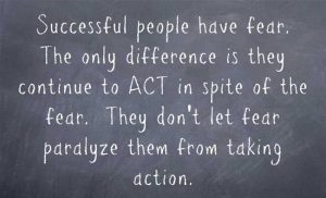 The Power To Act In Spite Of Fear 1