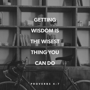 Wisdom Comes From Grace 1