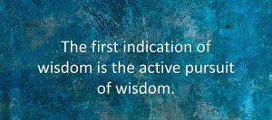Wisdom For Leadership Development 3