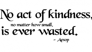 A Kind Word is Never Thrown Away 5