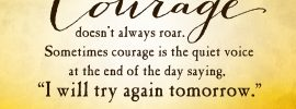Be of Good Courage 3