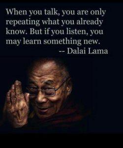 Listening or Talking 2