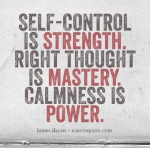 Self-Controlled Wisdom 2