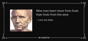 The Wise Learn From Fools 3