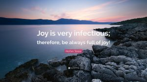 Always be Full of Joy 1