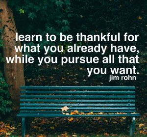 Be Thankful For What You Already Have 2