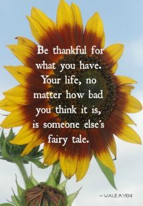Be Thankful For What You Already Have 3