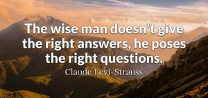 Clever Answers or Wise Questions 3