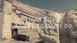 Do As The Romans Do 3