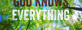 God Knows Everything 1