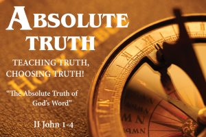 God is Absolute Truth 1