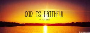 God is Faithful 1