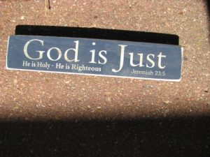 God is Just 3