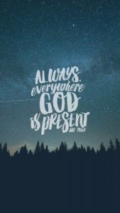 God is Present Everywhere 1