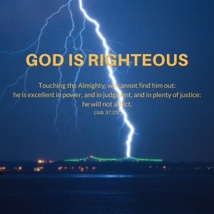 God is Righteous 3