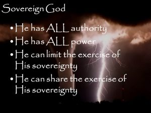 God is Sovereign 3
