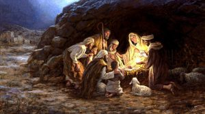 The Birth of Christ and the Shepherds