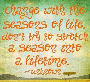 The Seasons of Life 5